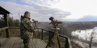 Порошенко на Донбасі: бойовики вели обстріли в 2 км від місця перебування президента - today.ua