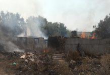 На Донбассе после обстрела боевиков сгорели два жилых дома - today.ua
