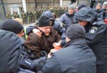 В Одесі поліція розігнала мітинг на підтримку військовополонених українських моряків - today.ua