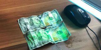 На Закарпатті викритий на хабарі прикордонник намагався з'їсти 200 доларів - today.ua
