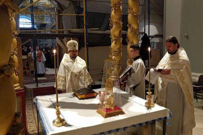 В Андріївській церкві відбулася різдвяна літургія з благословення Вселенського патріарха - today.ua
