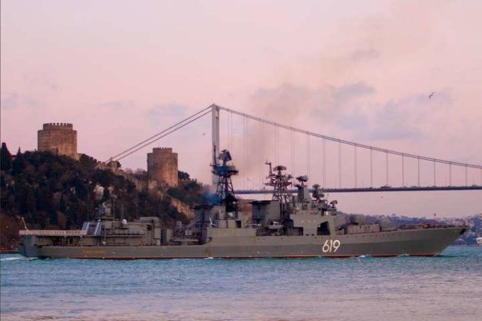 У Чорне море зайшов військовий корабель Північного флоту Росії - today.ua