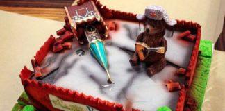 Омелян получил на 40-летие торт в виде развалин Кремля: опубликовано фото - today.ua