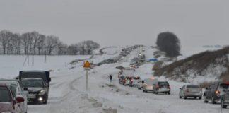 Україну замітає снігом: названі траси, рух по яких обмежено - today.ua