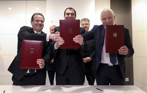 Порошенко підписав угоду з європейськими інвесторами Total Eren та NBT на $150 млн