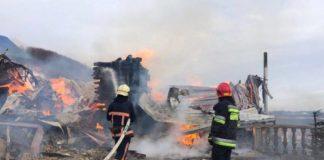 На Прикарпатті згорів чоловічий монастир - today.ua