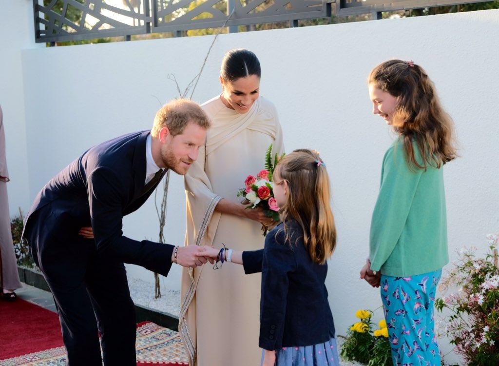 Вагітна Меган Маркл відвідала школи Марокко