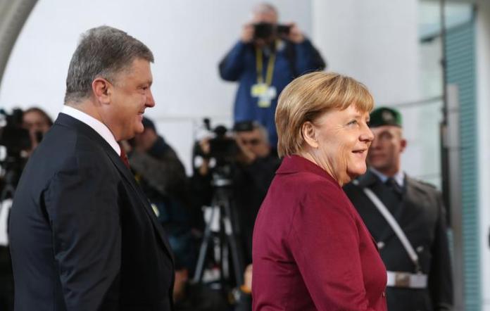 Стало відомо, що обговорювали Порошенко і Меркель - today.ua