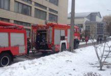 У Києві під час пожежі у будівлі НАУ евакуювали 5 осіб (фото) - today.ua