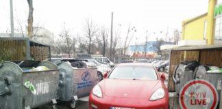 У столиці викинули на смітник елітний Porsche на євробляхах - today.ua
