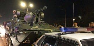 У Києві БТР влетів у легковик: опубліковано фото і відео - today.ua
