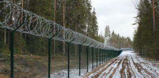 Латвія відгородилась від Росії парканом з колючим дротом - today.ua