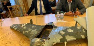 Українські військові показали два збитих на Донбасі російських безпілотника - today.ua