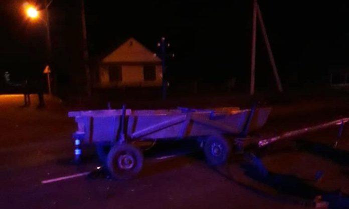 На Волині позашляховик врізався у кінну підводу: постраждала дитина - today.ua