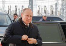 Путін прибув до окупованого Криму, де запустив дві ТЕС - today.ua