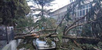 На окупований Крим обрушився потужний ураган - today.ua