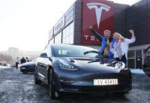 Tesla Model 3 встановила рекорд продажів у Норвегії - today.ua