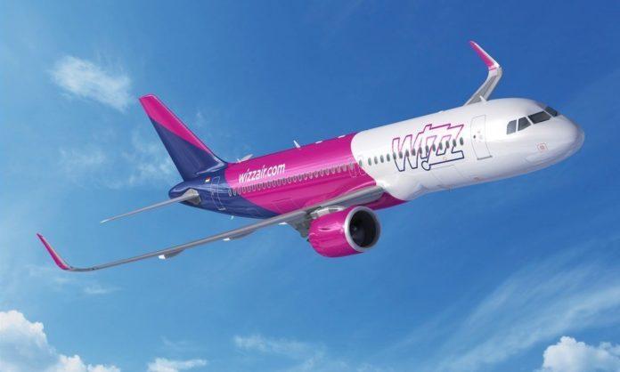 Wizz Air запустив нові авіарейси з Києва