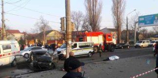 В Одессе «евробляха» сбила трех нацгвардейцев, один из них погиб - today.ua