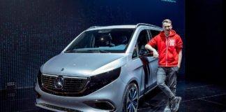 Mercedes-Benz представив електричний мінівен - today.ua