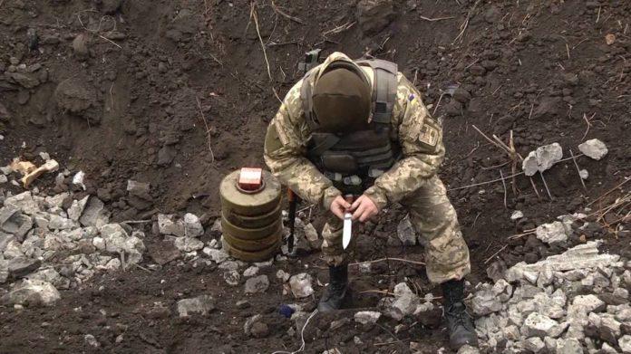 На Донбассе за неделю обезвредили 77 мин - today.ua