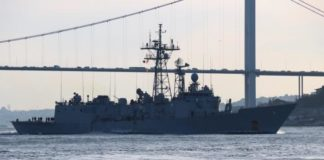 """Три корабля НАТО вошли в Черное море"""" - today.ua"""
