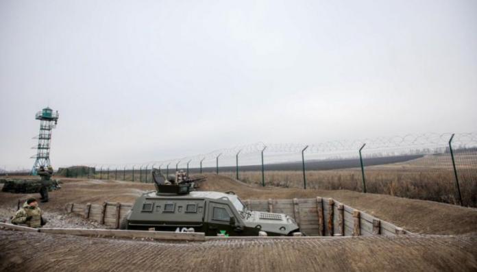 На Луганщині почали будувати &quotстіну&quot на кордоні з РФ - today.ua