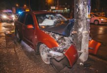 У столиці Skoda протаранила автомобіль з дитиною: опубліковано відео - today.ua