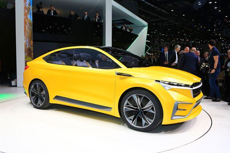 Skoda представила свой первый электромобиль