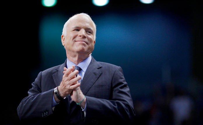 У Києві на честь сенатора Джона Маккейна назвали вулицю