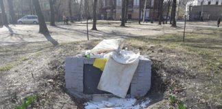 В Харькове забросали мусором памятник воинам УПА - today.ua