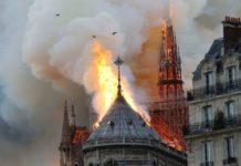 Розбите серце Парижа: у мережі показали, як виглядає Нотр-Дам-де-Парі з висоти пташиного польоту - today.ua