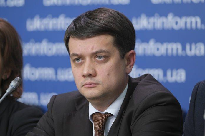 """&quotТакі дії є неприпустимими"""": Разумков прокоментував перший випадок кнопкодавства в новій Раді - today.ua"""