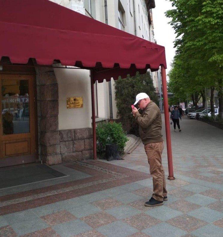 В Днепре заметили Владимира Рубана: опубликовано фото