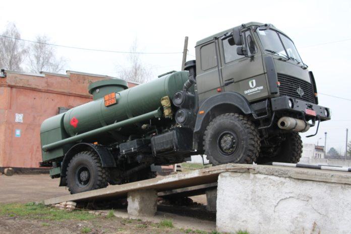 Міноборони випробовує новий екологічний паливозаправник для ЗСУ - today.ua