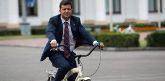 """Зеленский не будет ездить на работу на велосипеде - кандидат назвал причину"""" - today.ua"""