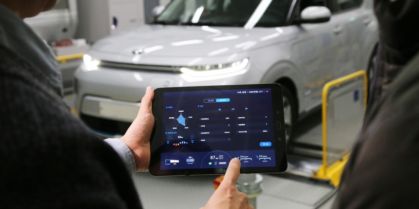 Електромобілі Hyundai можна буде налаштувати за допомогою смартфона
