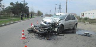 Несовершеннолетний мотоциклист на Закарпатье врезался в автомобиль пенсионера - today.ua