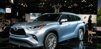 Новая Toyota Highlander официально представлена на автосалоне в Нью-Йорке - today.ua