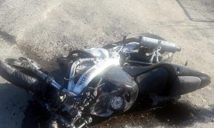 Мотоцикліст залишив поранену дівчину стікати кров'ю після ДТП