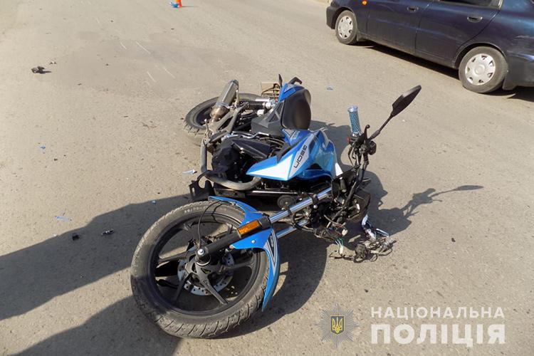 Мотоцикліст травмував жінку з дворічною дитиною, які порушили ПДР