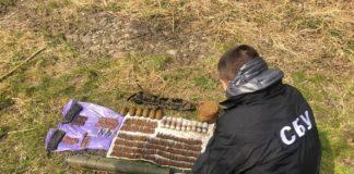 У парку Вінниці знайшли схрон з арсеналом зброї та вибухівкою - today.ua