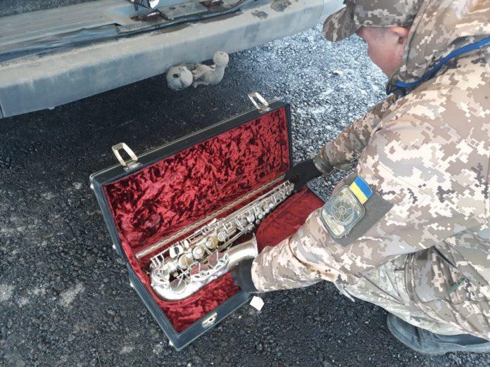 В оккупированный Донецк пытались вывезти саксофон стоимостью 560 тыс грн - today.ua