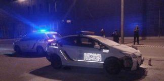 Як затримували зловмисника, який викрав поліцейське авто і збив патрульну: опубліковано відео - today.ua