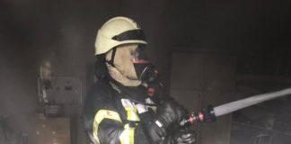 В Киеве горело здание Минобразования - today.ua