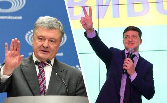 Порошенко поздравил Зеленского с победой на выборах президента - today.ua