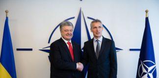 """Порошенко і Столтенберг обговорили подальші кроки України на шляху до НАТО"""" - today.ua"""
