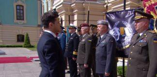 Командующий ССО и глава СБУ не отдали честь Зеленскому: опубликовано видео - today.ua