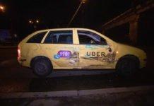 """У Києві Uber перевернув автовишку """"Київпастранса"""" - today.ua"""