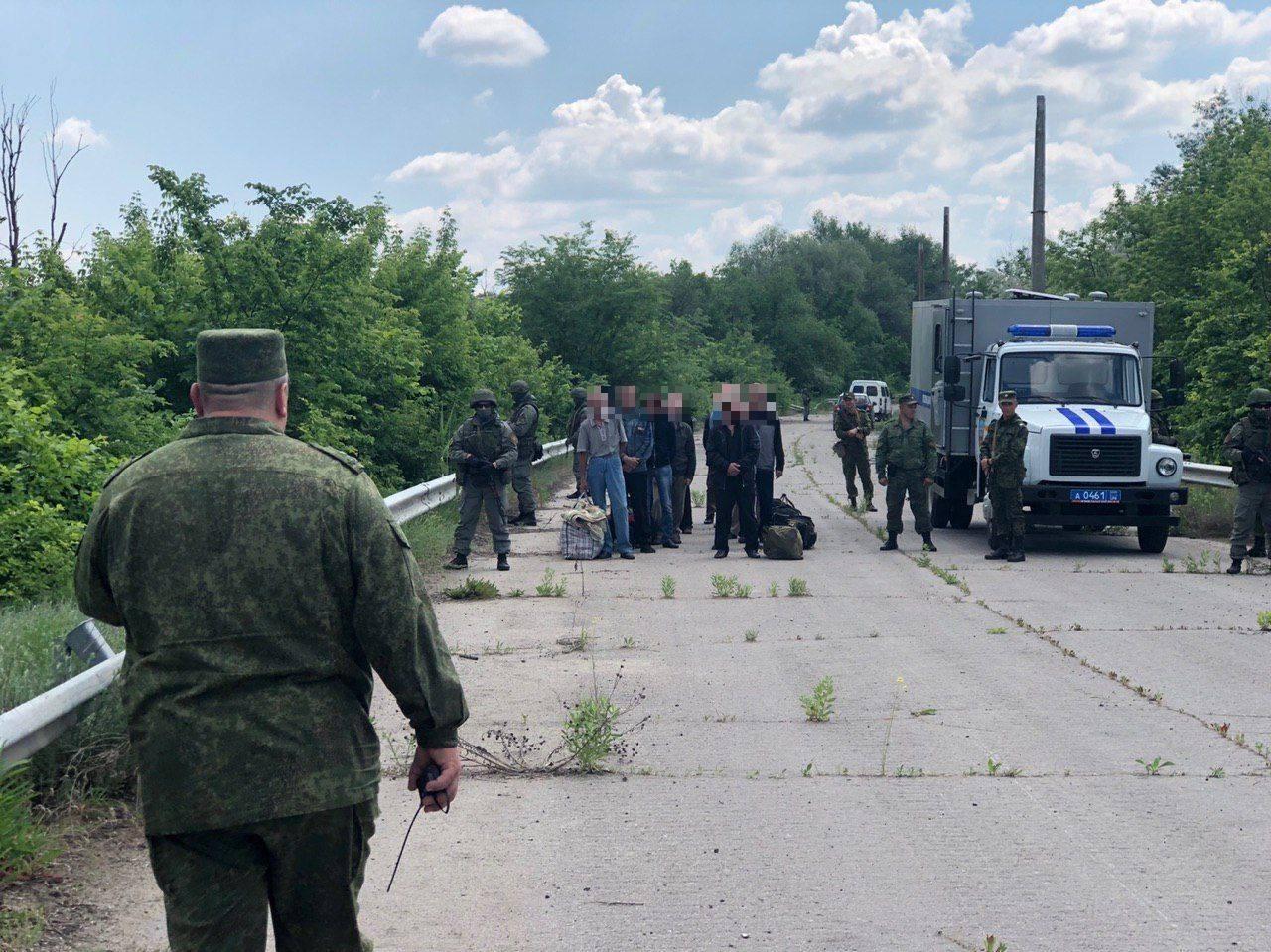"""""""ЛНР"""" передала Украине 60 осужденных"""